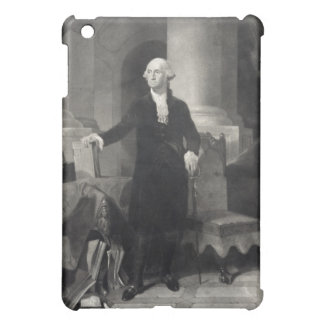 Portrait of George Washington iPad case