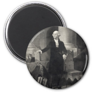 Portrait of George Washington magnet