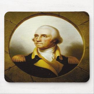 Portrait of George Washington Mouse Pads
