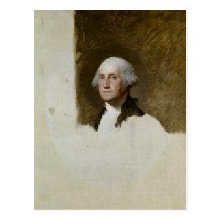 Portrait of George Washington Postcard