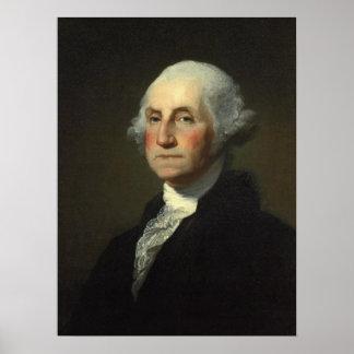 'Portrait of George Washington' Poster