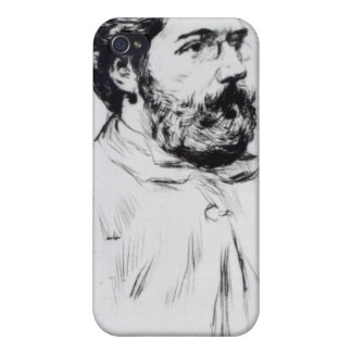 Portrait of Georges Bizet iPhone 4/4S Covers