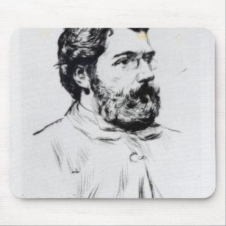 Portrait of Georges Bizet Mouse Pads