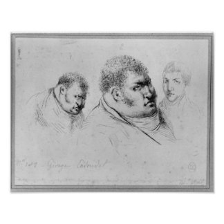 Portrait of Georges Cadoudal  25th May 1804 Poster