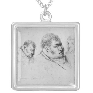 Portrait of Georges Cadoudal  25th May 1804 Silver Plated Necklace