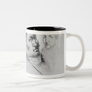Portrait of Georges Cadoudal  25th May 1804 Two-Tone Coffee Mug