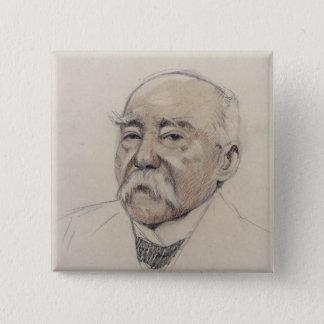 Portrait of Georges Clemenceau Pinback Button