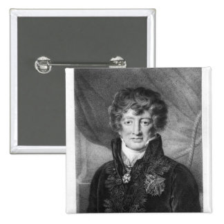 Portrait of Georges Cuvier Button