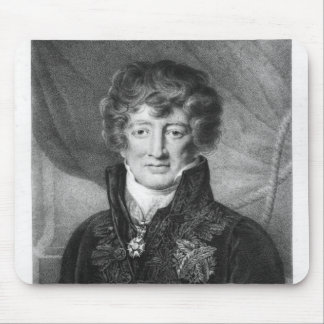 Portrait of Georges Cuvier Mouse Pad