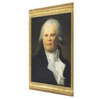 Portrait of Georges Danton Canvas Print