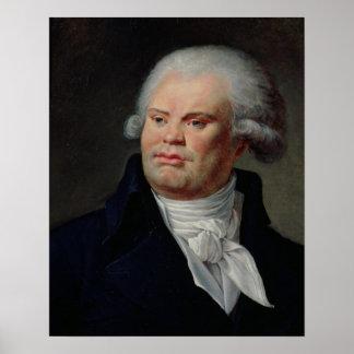 Portrait of Georges Danton Poster