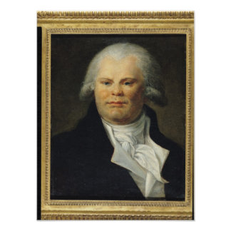 Portrait of Georges Danton Poster