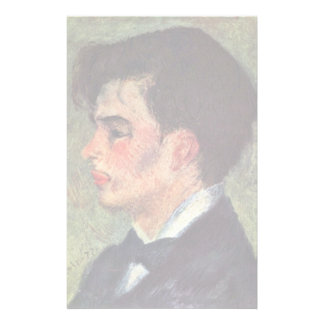 Portrait Of Georges Rivière By Pierre-Auguste Reno Stationery Design
