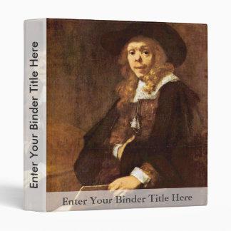 Portrait Of Gerard De Lairesse By Rembrand 3 Ring Binder