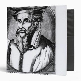 Portrait of Gerard Mercator Binder