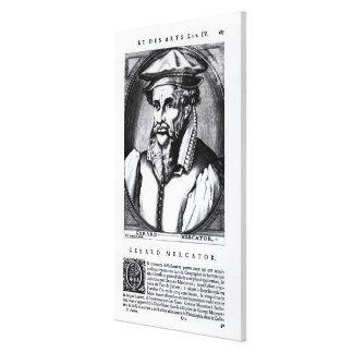 Portrait of Gerard Mercator Canvas Print
