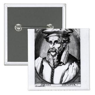Portrait of Gerard Mercator Pinback Button