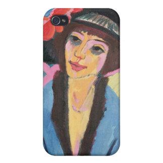 Portrait of Gerda iPhone 4 Cover