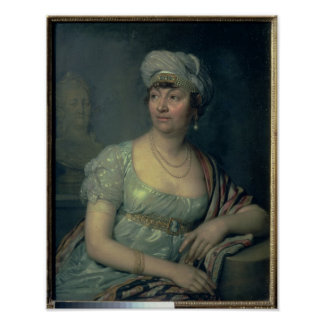 Portrait of Germaine de Stael , 1812 Poster