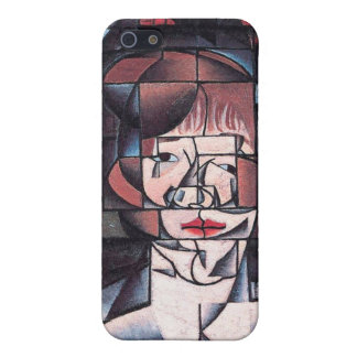 Portrait of Germaine Raynal , by Juan Gris iPhone 5 Covers
