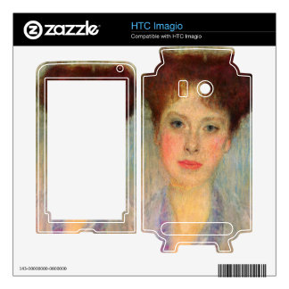 Portrait of Gertha Fersovanyi (detail) by Klimt Decal For The HTC Imagio