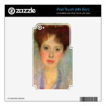 Portrait of Gertha Fersovanyi (detail) by Klimt Decal For iPod Touch 4G