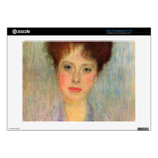 Portrait of Gertha Fersovanyi detail by Klimt Decal For Acer Chromebook