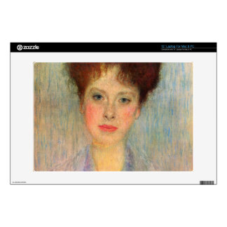 Portrait of Gertha Fersovanyi (detail) by Klimt Skin For Laptop