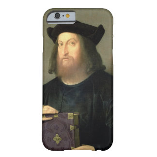 Portrait of Gian Giorgio Trissino (1478-1550) (oil Barely There iPhone 6 Case