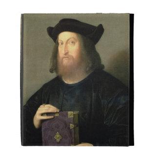 Portrait of Gian Giorgio Trissino (1478-1550) (oil iPad Folio Case