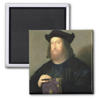 Portrait of Gian Giorgio Trissino (1478-1550) (oil Refrigerator Magnets
