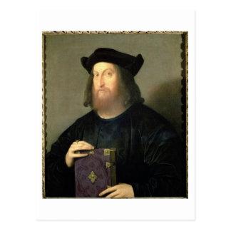 Portrait of Gian Giorgio Trissino (1478-1550) (oil Postcard