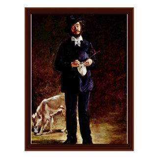 Portrait Of Gilbert-Marcellin Desboutin Postcard