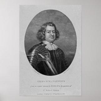 Portrait of Giles Strangeways Poster