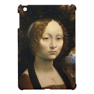 Portrait of Ginevra de Benci by Leonardo da Vinci iPad Mini Case