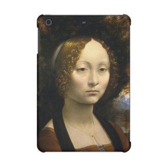 Portrait of Ginevra de Benci by Leonardo da Vinci iPad Mini Retina Cover