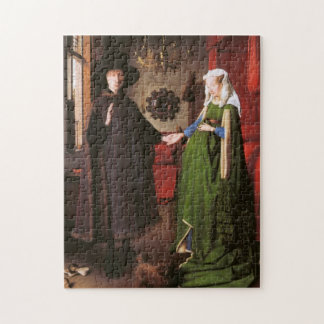 Portrait of Giovanni Arnolfini and his Wife Puzzle