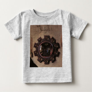 Portrait of Giovanni Arnolfini & Wife (detail) Baby T-Shirt