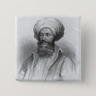 Portrait of Giovanni Batista Belzoni Pinback Button