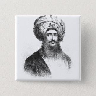 Portrait of Giovanni Battista Belzoni Pinback Button