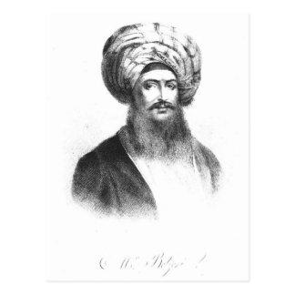 Portrait of Giovanni Battista Belzoni Postcard