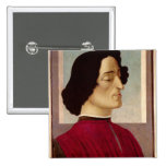 Portrait of Giuliano de' Medici  c.1480 Button
