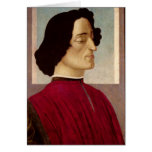 Portrait of Giuliano de' Medici  c.1480 Card
