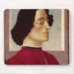 Portrait of Giuliano de' Medici  c.1480 Mouse Pad