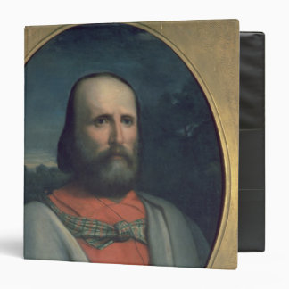 Portrait of Giuseppe Garibaldi 2 3 Ring Binder