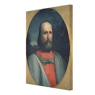 Portrait of Giuseppe Garibaldi 2 Canvas Print