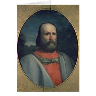 Portrait of Giuseppe Garibaldi 2 Greeting Card