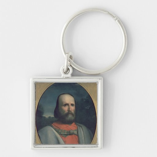 Portrait of Giuseppe Garibaldi 2 Keychain
