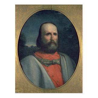 Portrait of Giuseppe Garibaldi 2 Postcard