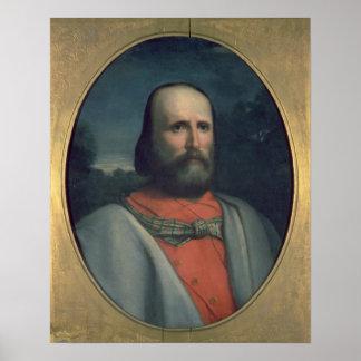 Portrait of Giuseppe Garibaldi 2 Poster